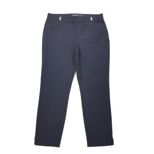 Ivanka Trump   Petite Navy Blue Trouser Pants